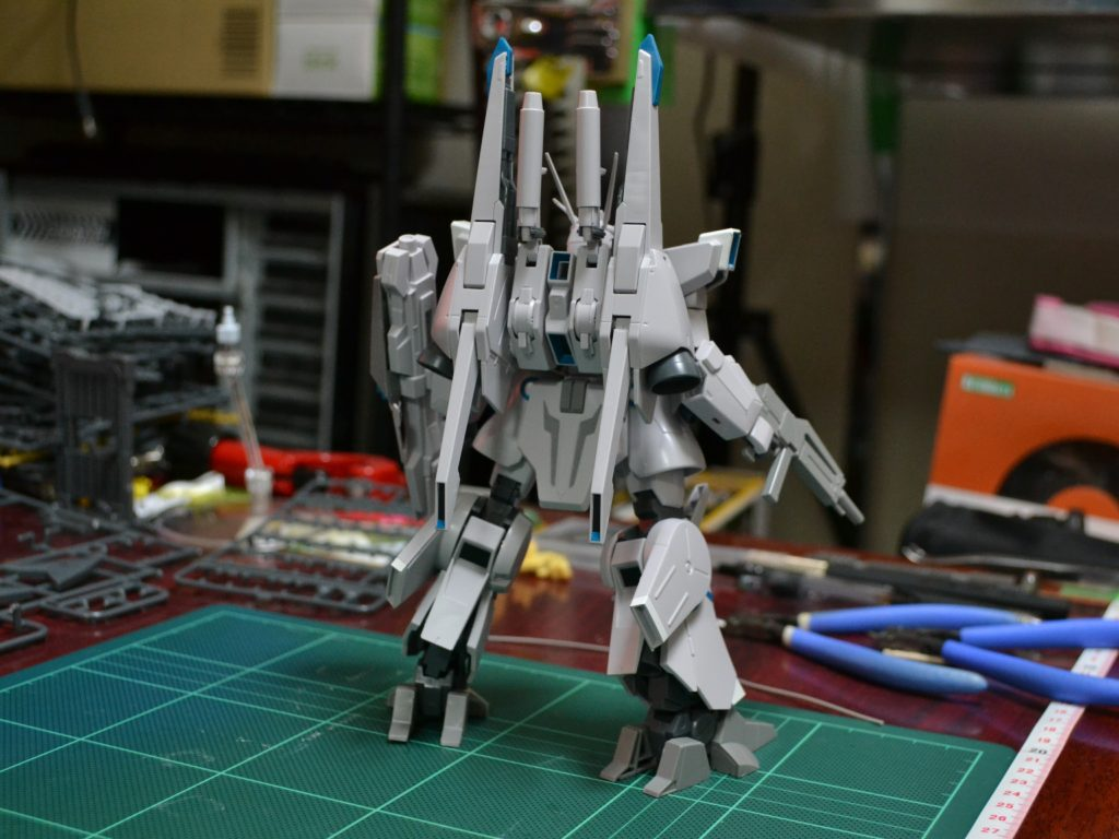 HGUC 1/144 ARX-014 シルヴァ・バレト 背面