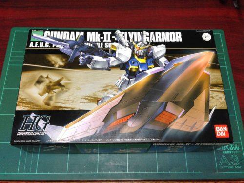 HGUC 1/144 RX-178 ガンダムMk-II+フライングアーマー