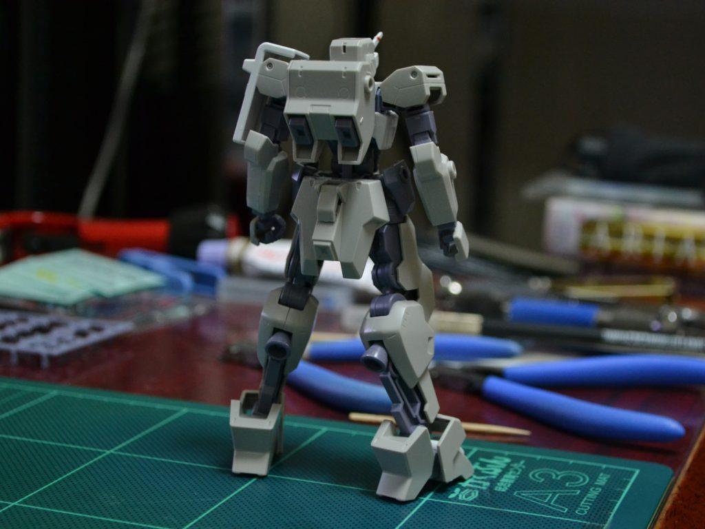 HG 1/144 イオフレーム獅電改(オルガ機) 背面