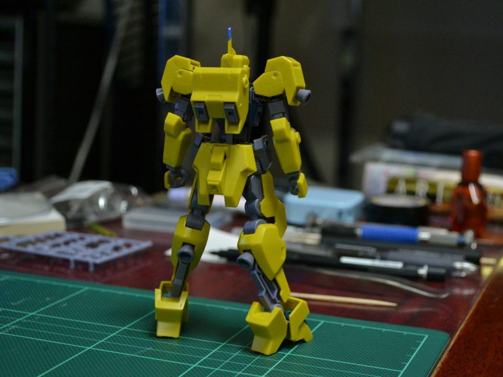 HG 1/144 イオフレーム獅電改(ライド機) 背面