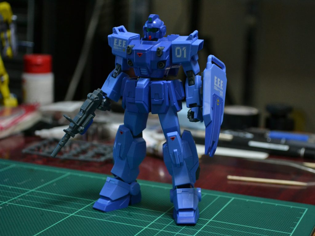 "HGUC 1/144 ブルーデスティニー1号機""EXAM"" 正面"