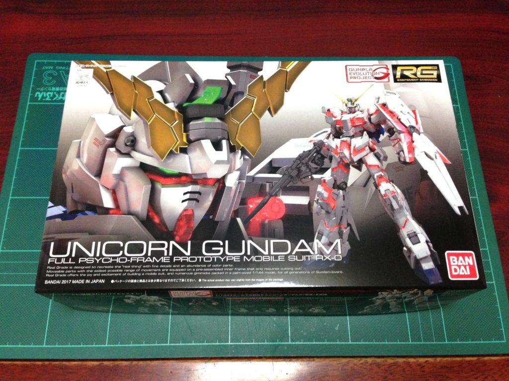 RG 1/144 RX-0 ユニコーンガンダム パッケージ
