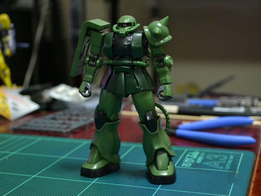 HG 1/144 MS-06 ザクII C型/C-5型[TheORIGIN] 正面