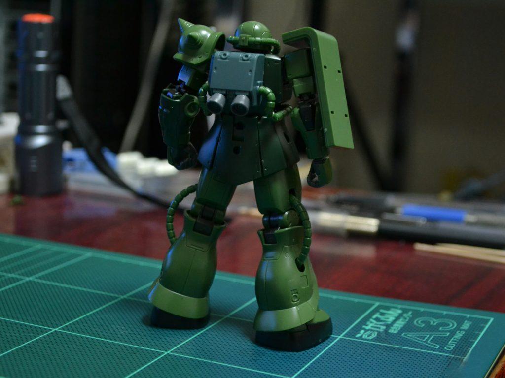 HG 1/144 MS-06 ザクII C型/C-5型[TheORIGIN] 背面