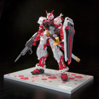 RG 1/144 GUNDAM ASTRAY RED FLAME Ver. GUNDAM docks at Taiwan 公式画像1