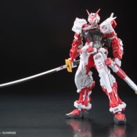 RG 1/144 GUNDAM ASTRAY RED FLAME Ver. GUNDAM docks at Taiwan 公式画像2