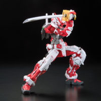 RG 1/144 GUNDAM ASTRAY RED FLAME Ver. GUNDAM docks at Taiwan 公式画像3