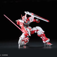 RG 1/144 GUNDAM ASTRAY RED FLAME Ver. GUNDAM docks at Taiwan 公式画像4