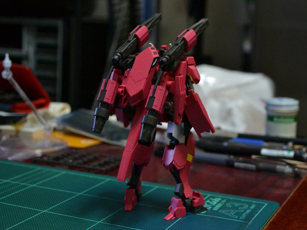 HG 1/144 鉄華団コンプリートセット 背面