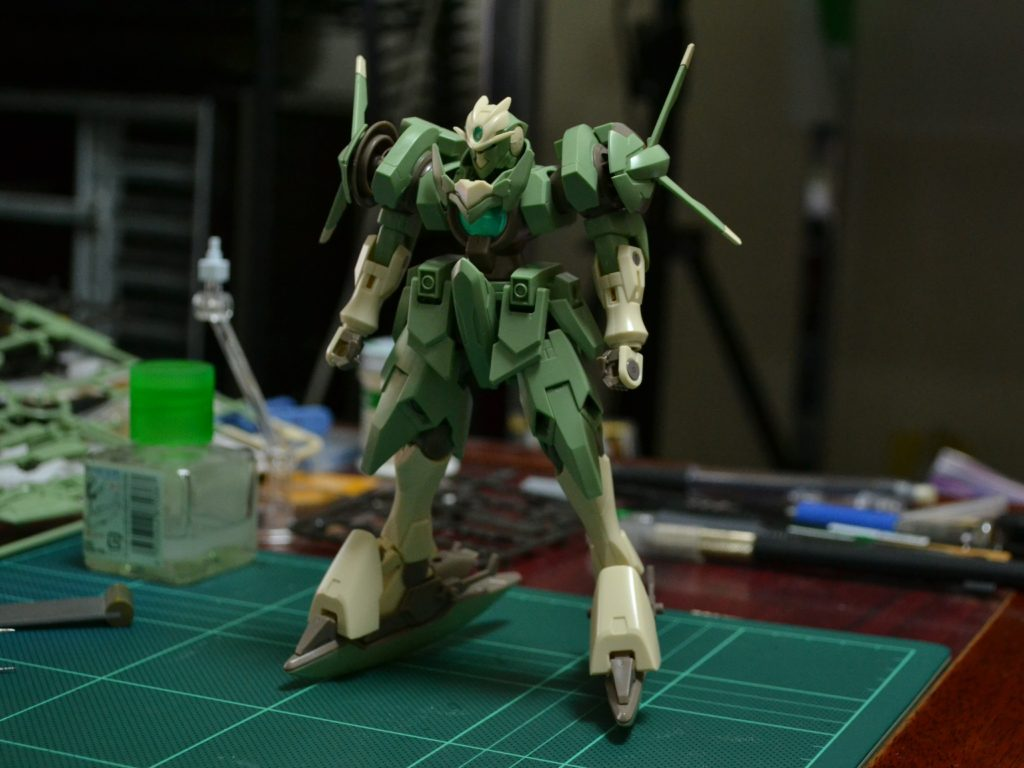 HGBF 1/144 GNX-803ACC アクセルレイトジンクス 正面