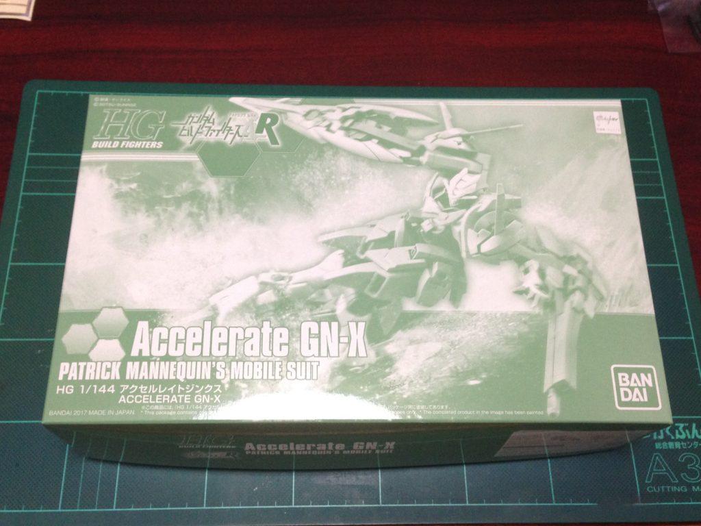 HGBF 1/144 GNX-803ACC アクセルレイトジンクス パッケージ