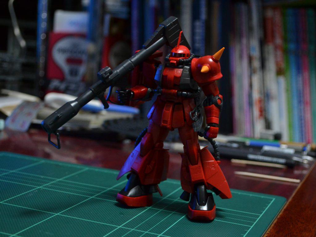 RG 1/144 MS-06R-2 ジョニー・ライデン専用ザクII 正面