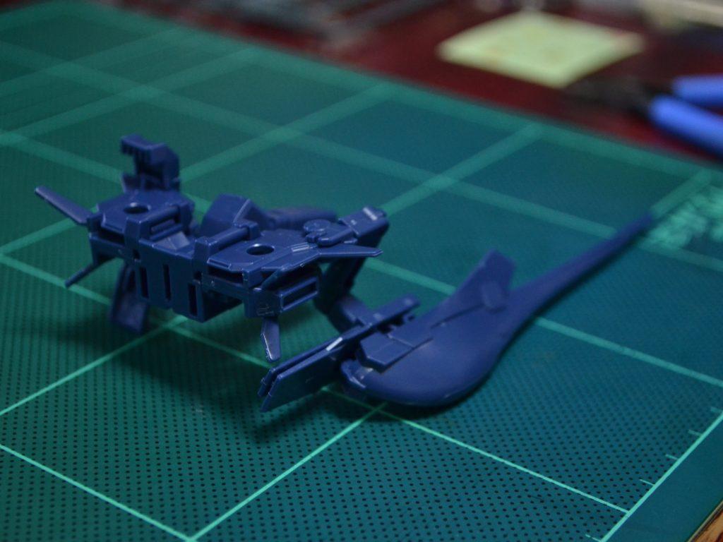 HGUC 1/144 ガンダムTR-1[ヘイズル改]電撃15年祭特別セット 背面