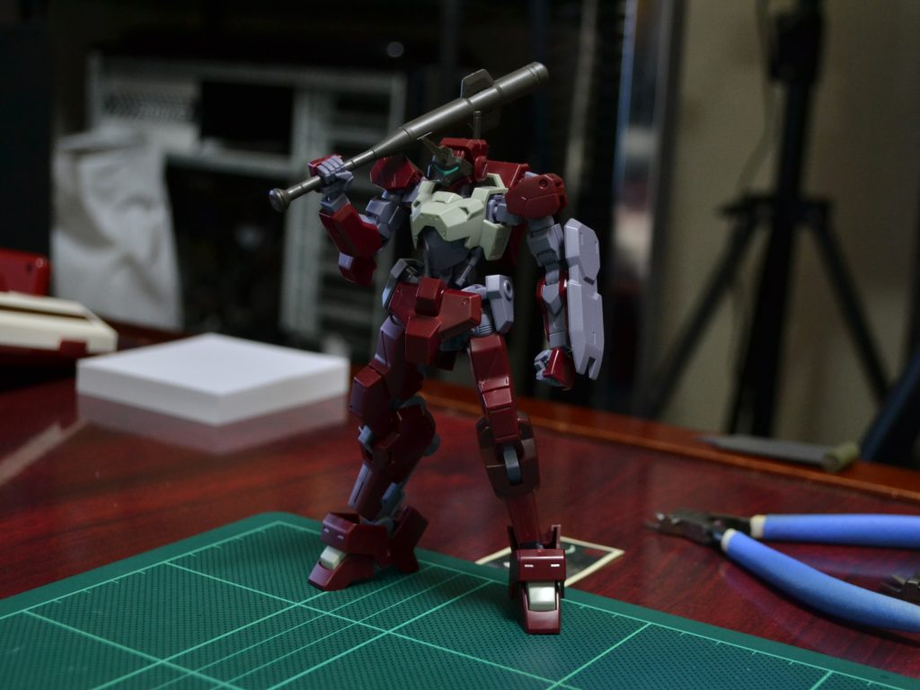 HG 1/144 MSオプションセット6&HDモビルワーカー [MOBILE SUIT OPTION SET 6 & HD MOBILE WORKER] 正面