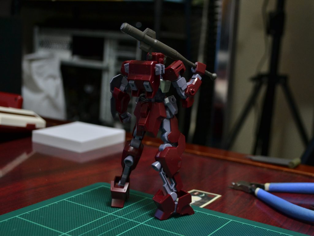 HG 1/144 MSオプションセット6&HDモビルワーカー [MOBILE SUIT OPTION SET 6 & HD MOBILE WORKER] 背面