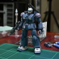 HG RCX-76-02 ガンキャノン最初期型(鉄騎兵中隊機) [GUNCANNON FIRST TYPE (IRON CAVARY SQUADRON)]