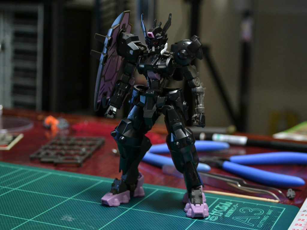 HG 1/144 ガンダムウヴァル 正面