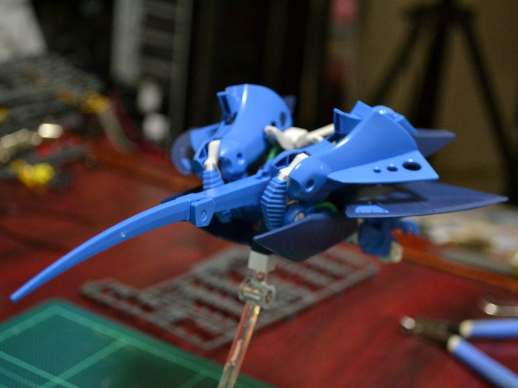 HGUC 1/144 RX-139 ハンブラビ 背面