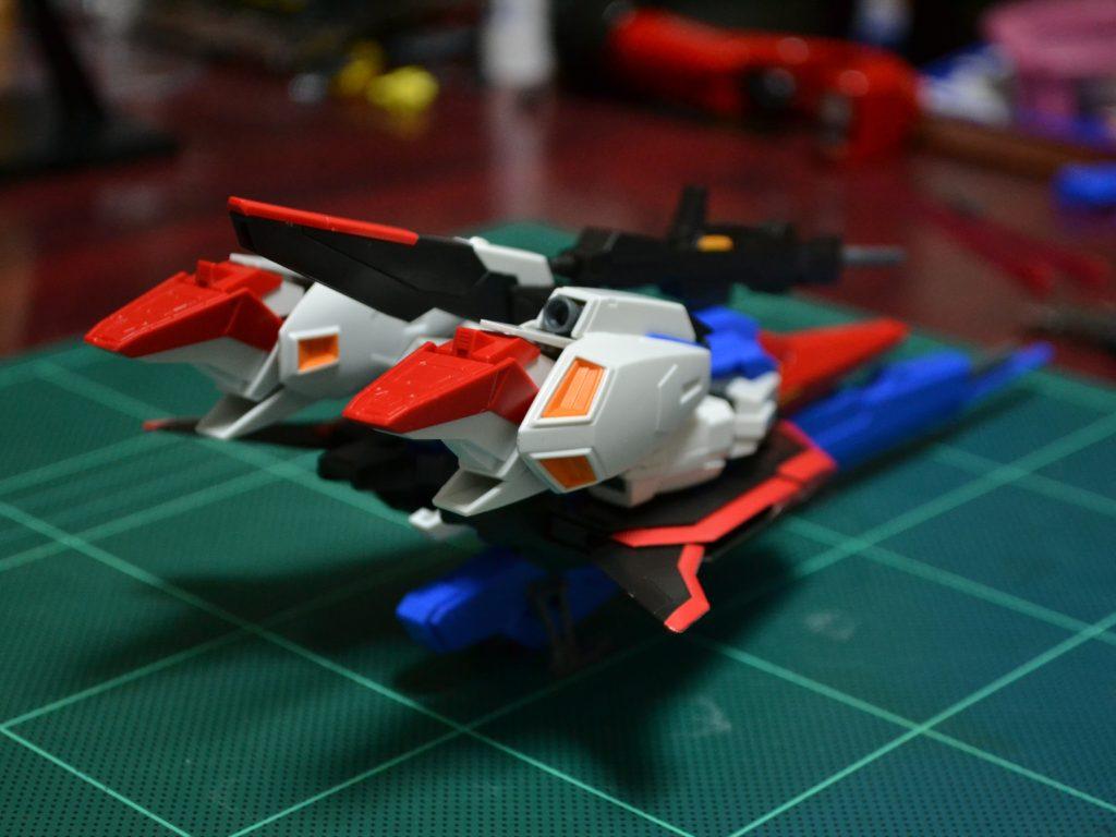 HGUC 1/144 MSZ-006 ゼータガンダム 背面