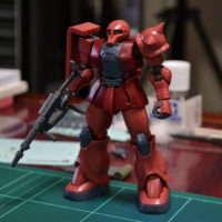 HG 1/144 MS-05S シャア専用ザクI [CHAR AZNABLE'S ZUKU I]