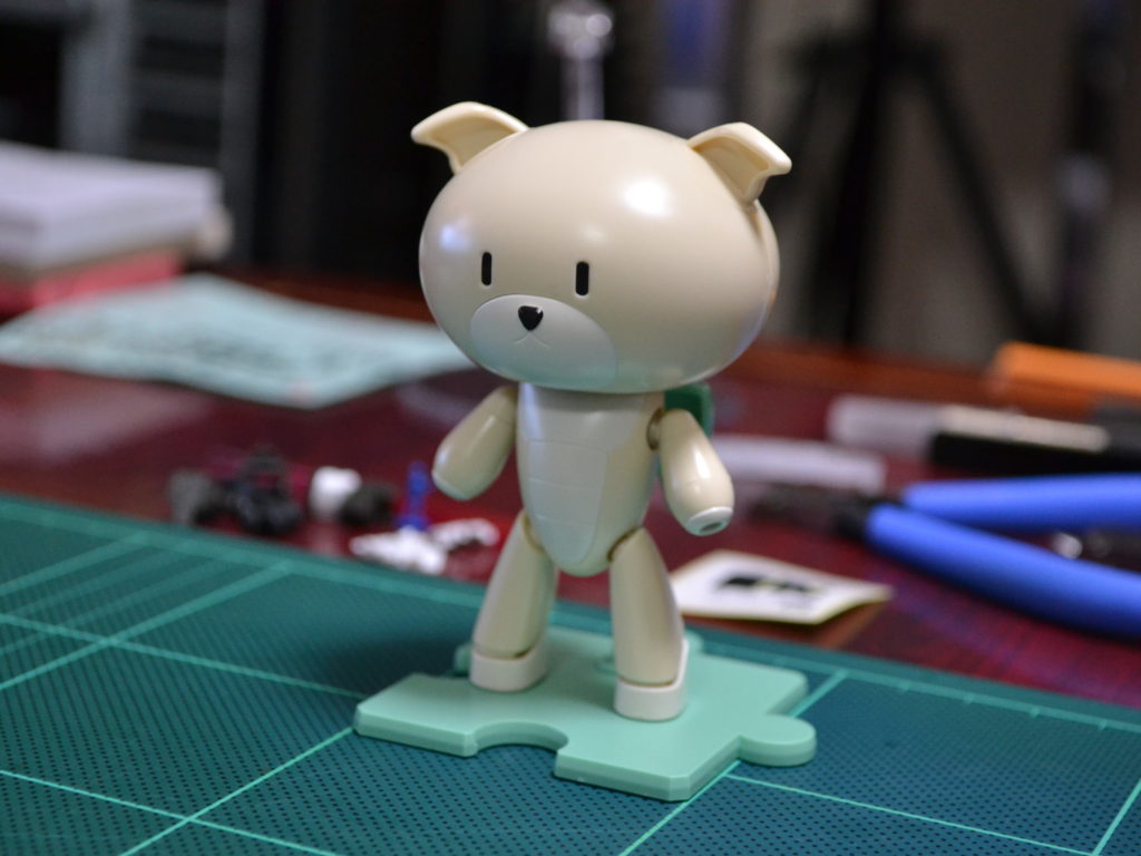 HGPG 1/144 プチッガイ ワンワンホワイト&ドッグコス [PETIT'GGUY WOOFWOOFWHITE & DOGCOS] 正面