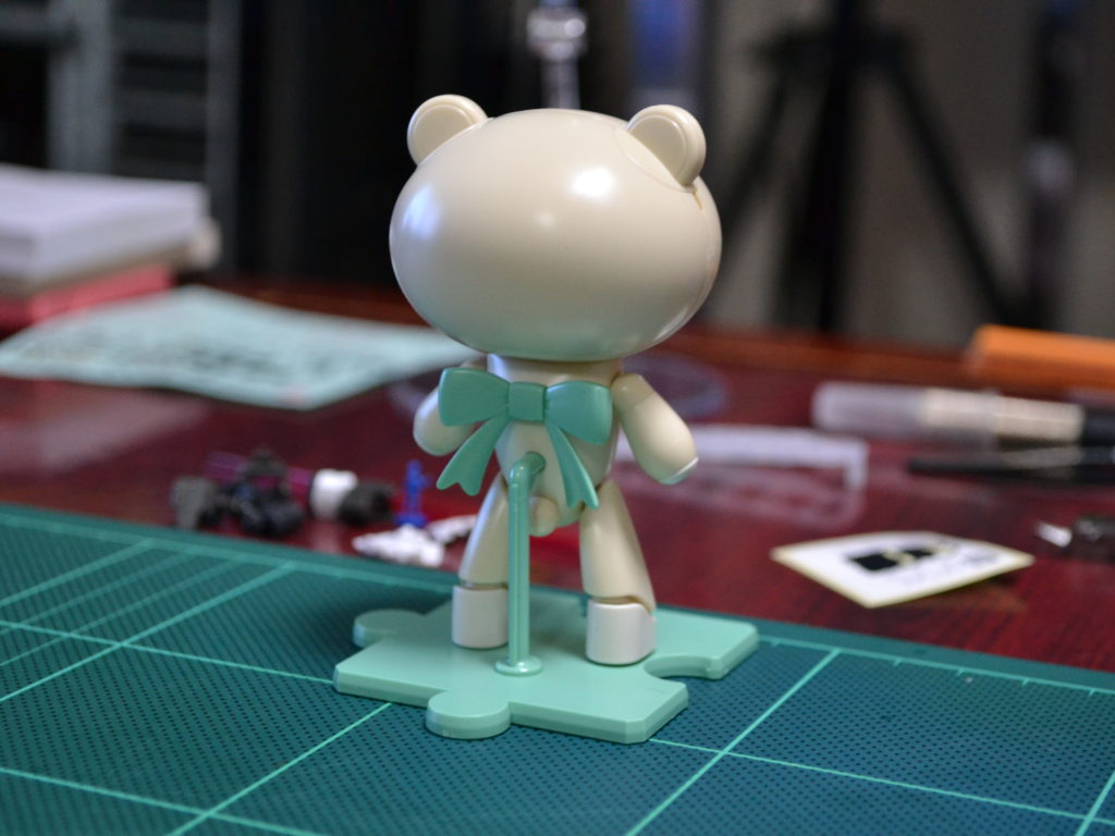 HGPG 1/144 プチッガイ ワンワンホワイト&ドッグコス [PETIT'GGUY WOOFWOOFWHITE & DOGCOS] 背面