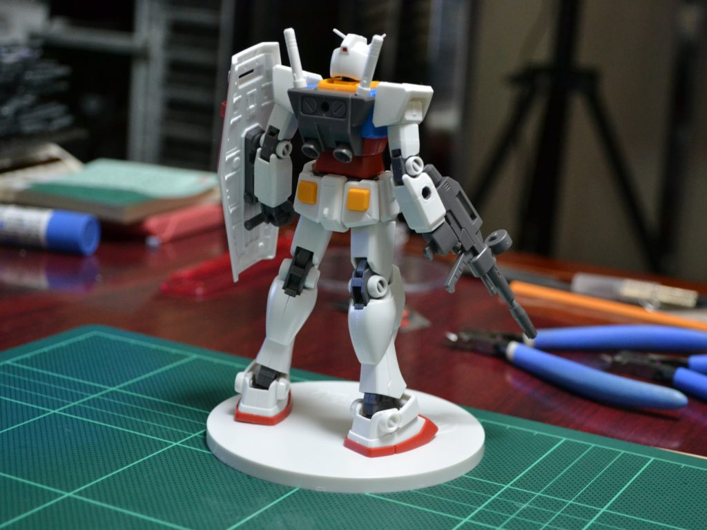 HGUC 1/144 RX-78-2 ガンダム Ver. GFT REVIVE EDITION 背面