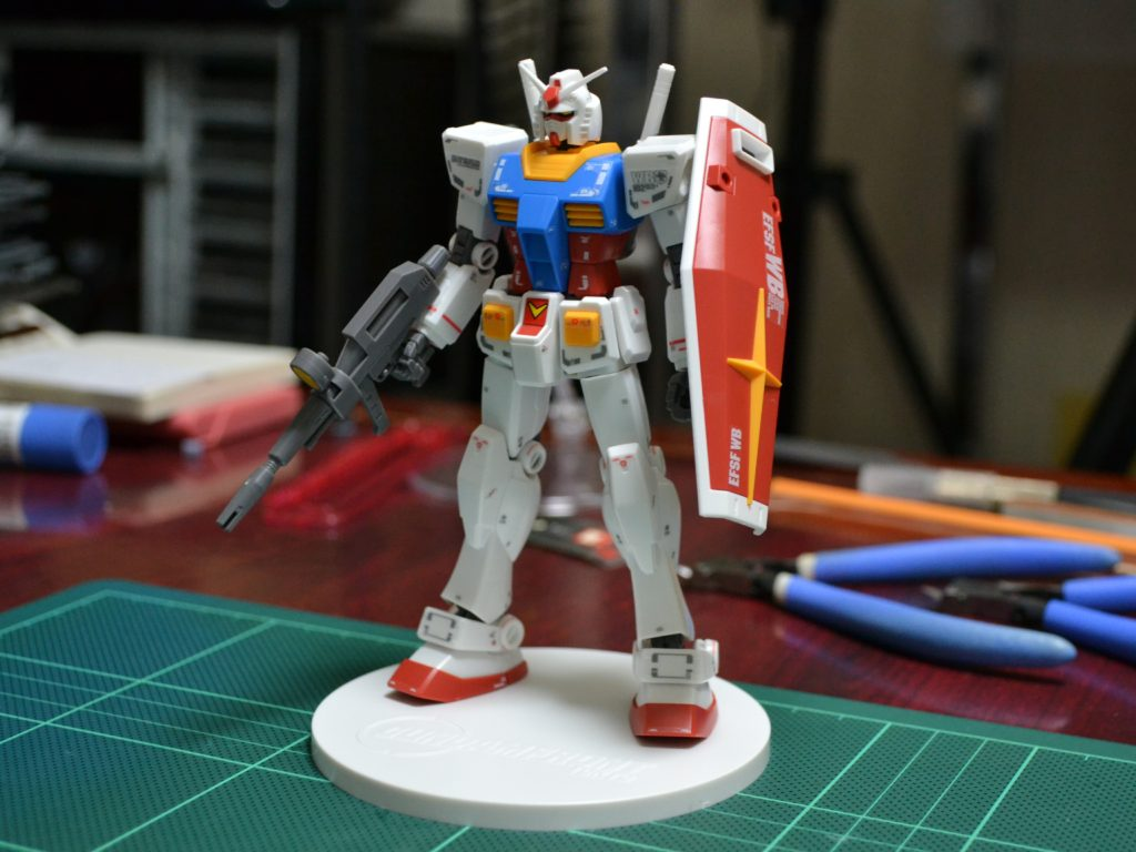 HGUC 1/144 RX-78-2 ガンダム Ver. GFT REVIVE EDITION 正面
