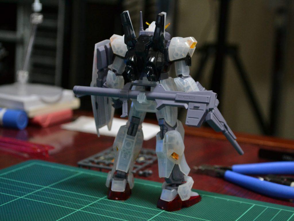HGUC 1/144 REVIVE ガンダムMk-II(エゥーゴ仕様)クリアカラーVer. 背面