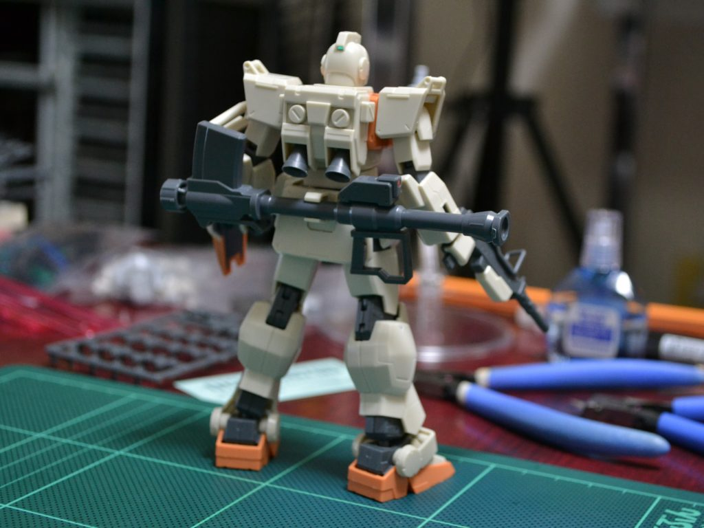 HGUC 1/144 RGM-79[G] 陸戦型ジム [GM GROUND TYPE] 背面