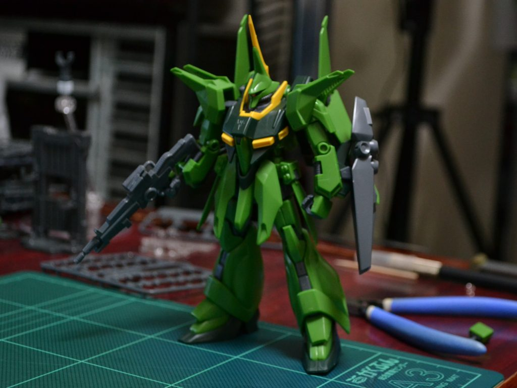 HGUC 1/144 AMX-107 バウ(量産型)[BAWOO] 正面