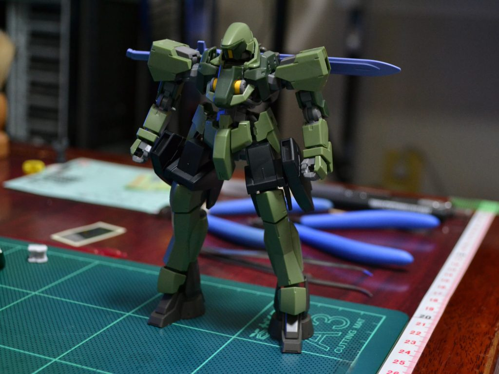 HG 1/144 MSオプションセット9 [MOBILE SUIT OPTION SET 9] 正面