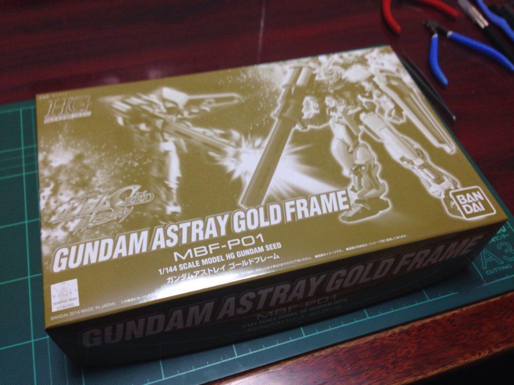 HG(HGCE) 1/144 ガンダムアストレイ ゴールドフレーム パッケージ