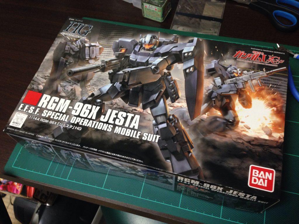 HGUC 1/144 RGM-96X ジェスタ パッケージ