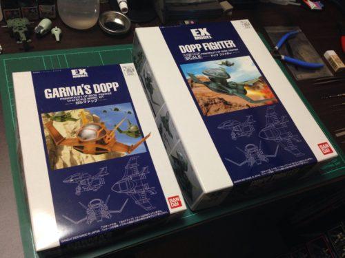 EXモデル 1/144 ガルマ ドップ[GARMA'S DOPP]