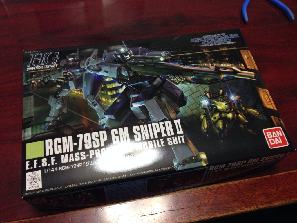 HGUC 1/144 RGM-79SP ジム・スナイパーII[GM SNIPER II] パッケージ