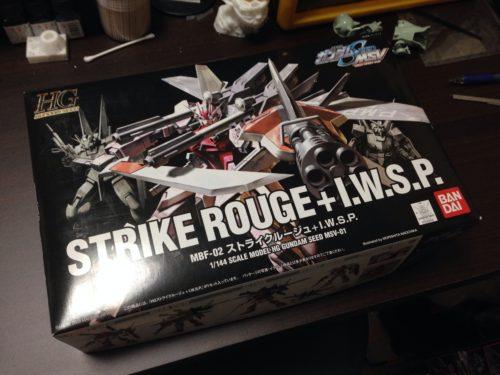 HG 1/144 MBF-02 ストライクルージュ+I.W.S.P.