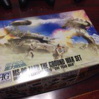 HGUC 1/144 MS-06 ザク地上戦セット パッケージ
