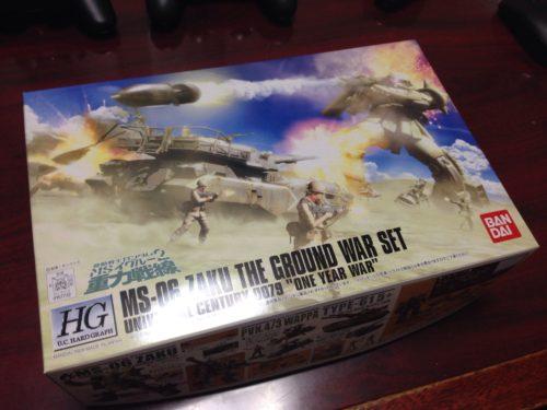 HGUC 1/144 MS-06 ザク地上戦セット