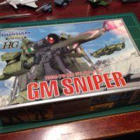 HG 1/144 RGM-79[G] ジムスナイパー パッケージ