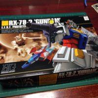 HGUC 1/144 RX-78-2 ガンダム