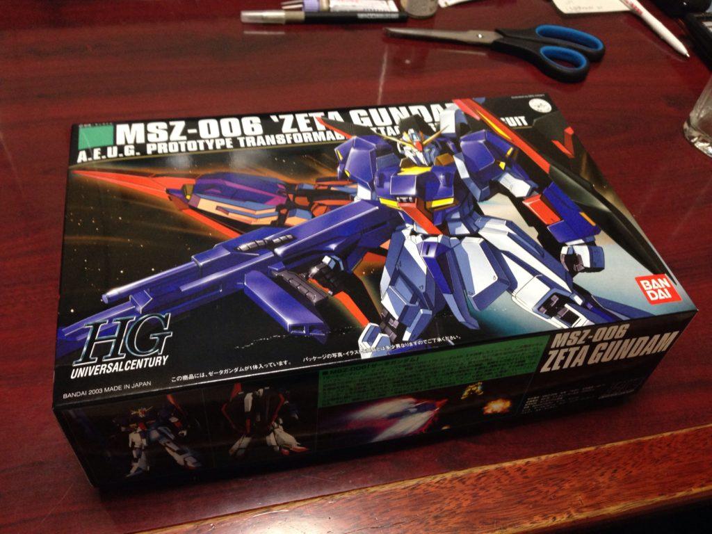 HGUC 1/144 MSZ-006 ゼータガンダム パッケージ