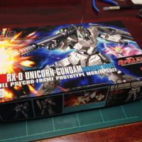 HGUC 1/144 RX-0 ユニコーンガンダム(ユニコーンモード) パッケージ