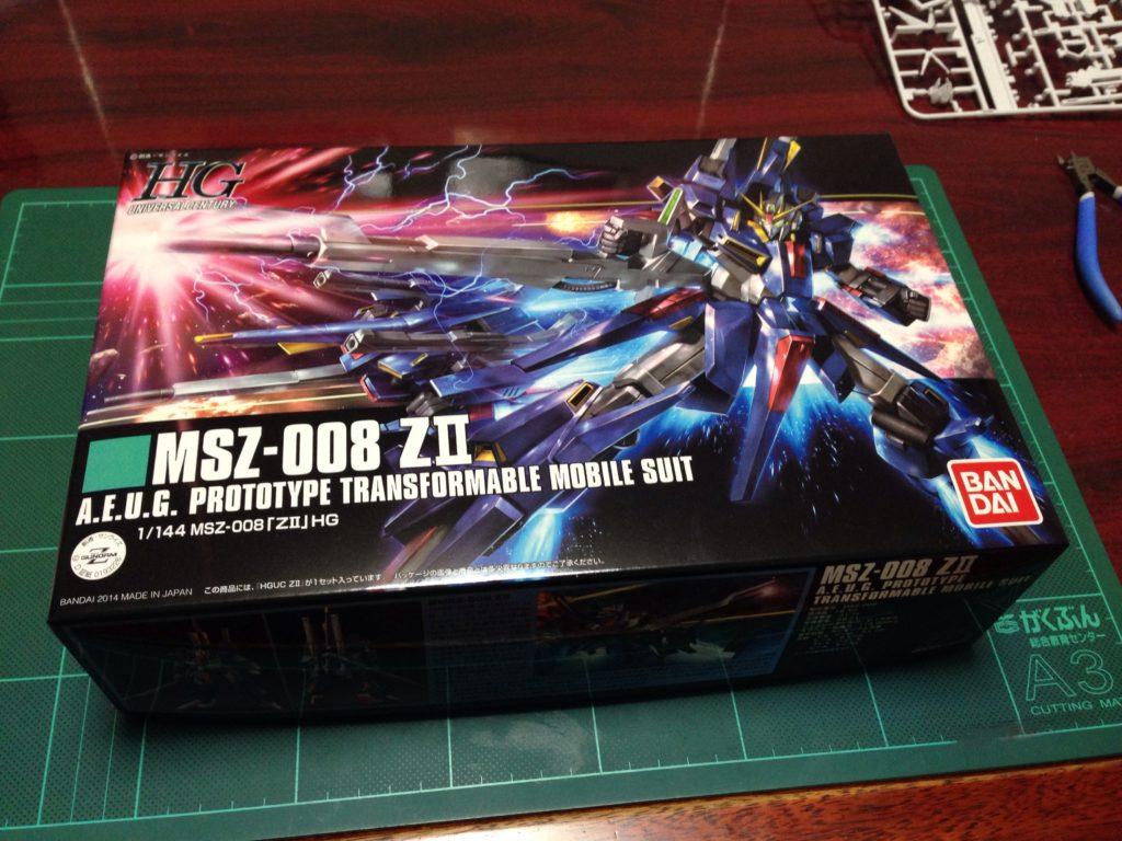 HGUC 1/144 MSZ-008 ZII パッケージ