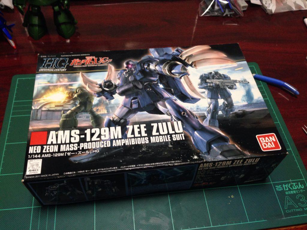 HGUC 1/144 AMS-129M ゼー・ズール パッケージ