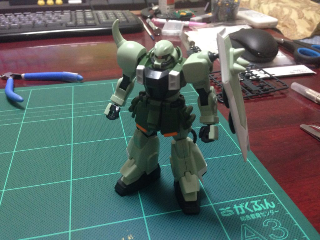 HG 1/144 ZGMF-1000 ザクウォーリア 正面