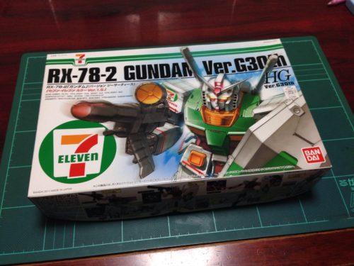HGUC 1/144 RX-78-2 ガンダム Ver.G30th セブン-イレブン カラーVer.1.5