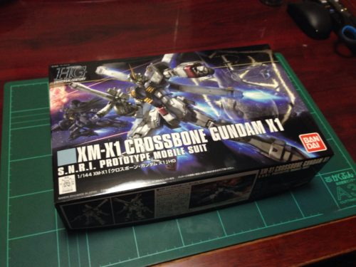 HGUC 1/144 XM-X1 クロスボーン・ガンダムX1 [CROSSBONE GUNDAM X1]