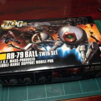 HGUC 1/144 RB-79 ボール ツインセット パッケージ