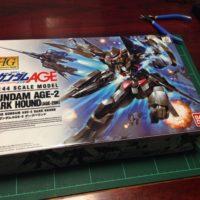 HG 1/144 AGE-2DH ガンダムAGE-2 ダークハウンド パッケージ